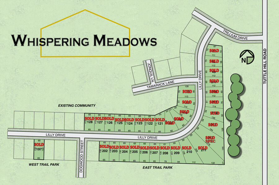 Whispering Meadows - Windmill Homes - Ypsilanti, Michigan New Construction - wm8-23