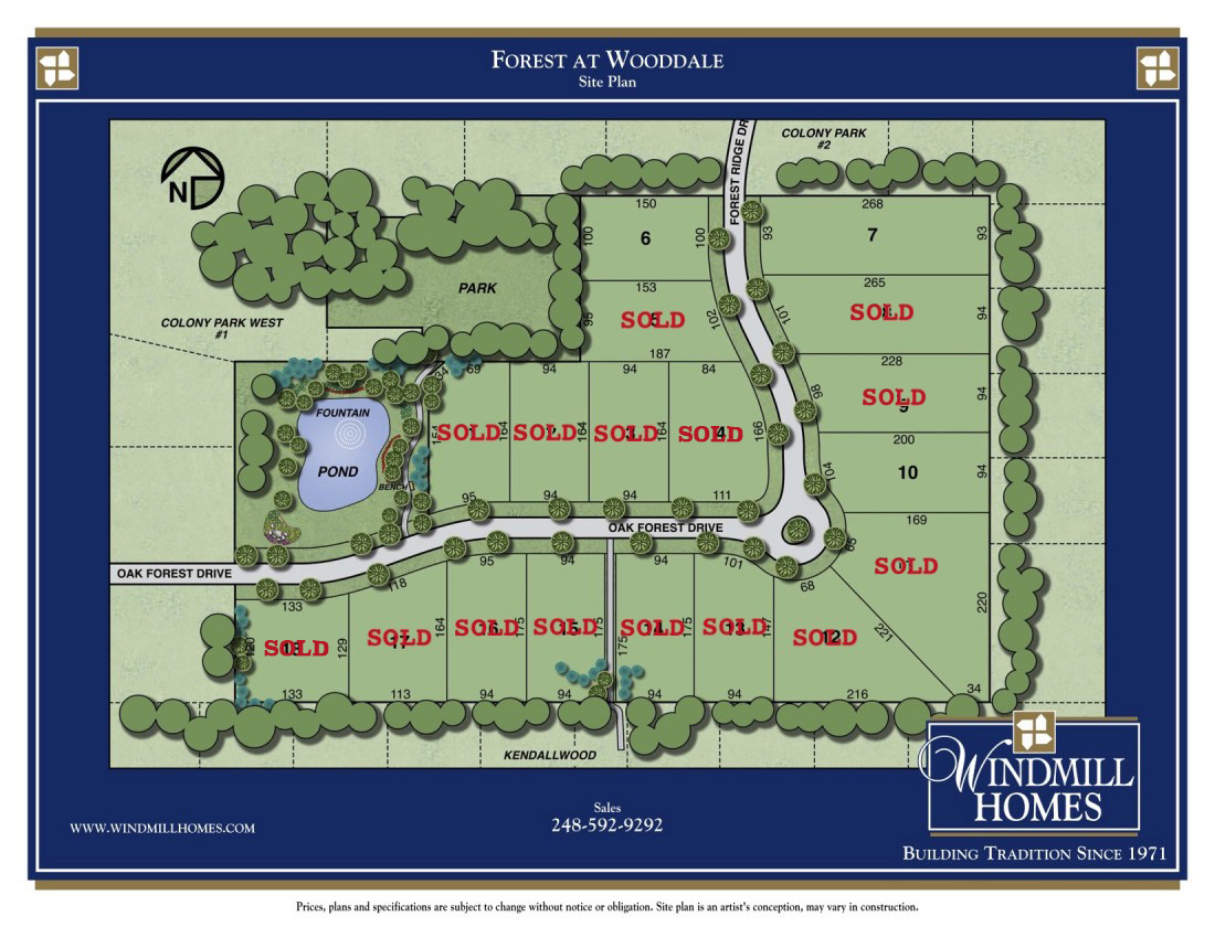 Custom Built Homes Farmington Hills - Forest at Wooddale | Windmill Homes - FORREST-woodale-update2