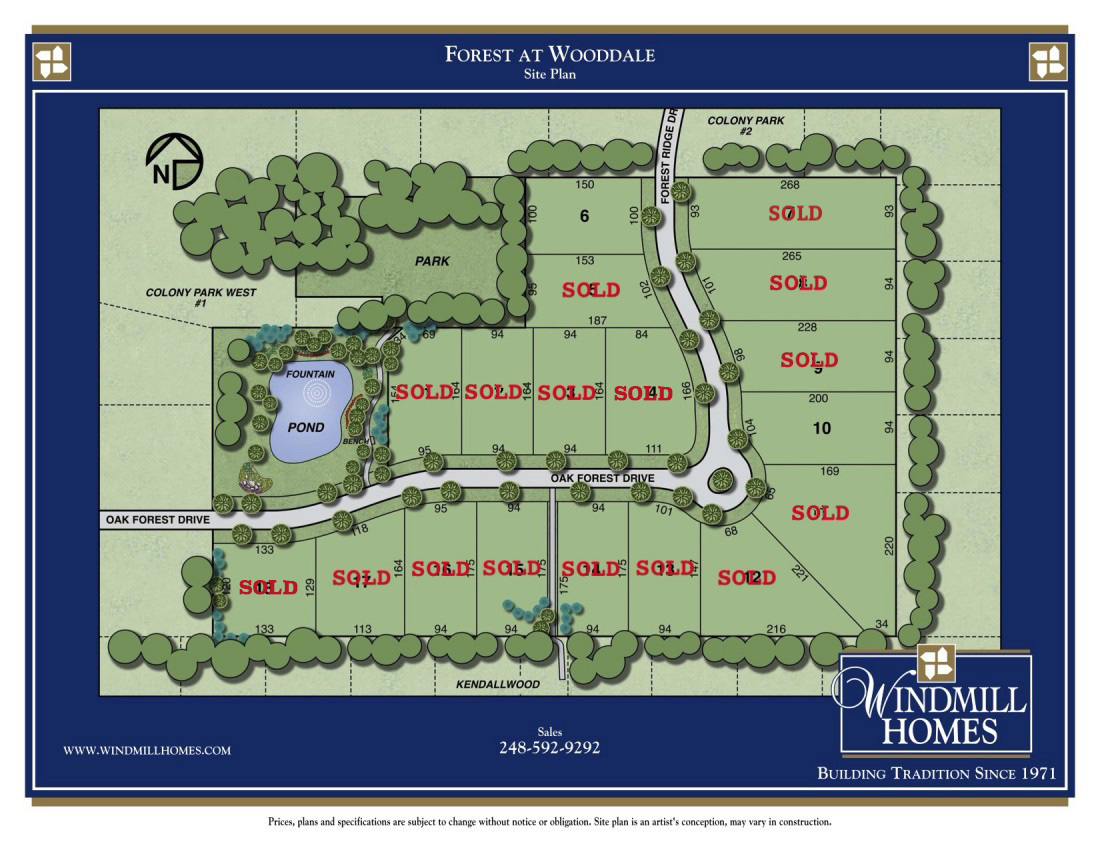 Custom Built Homes Farmington Hills - Forest at Wooddale | Windmill Homes - FORREST-woodale1
