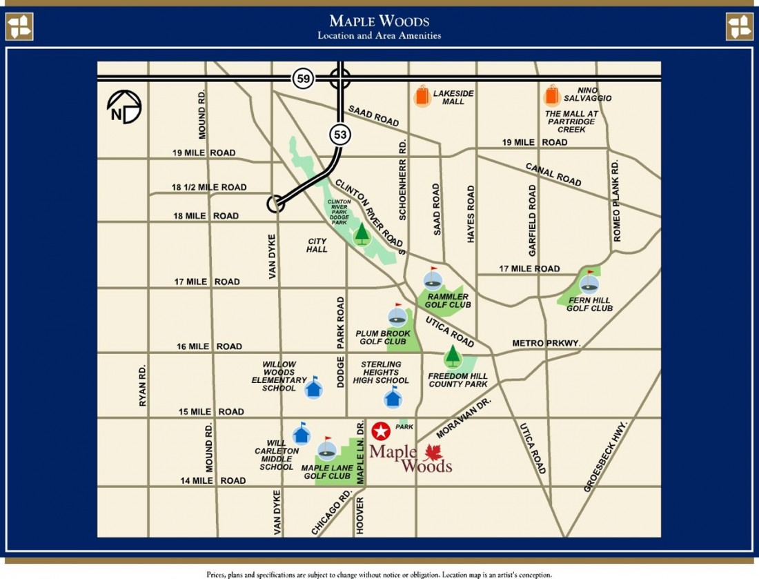 3. Sterling Heights - Maple Woods - Windmill Homes - Maple_Woods_Location